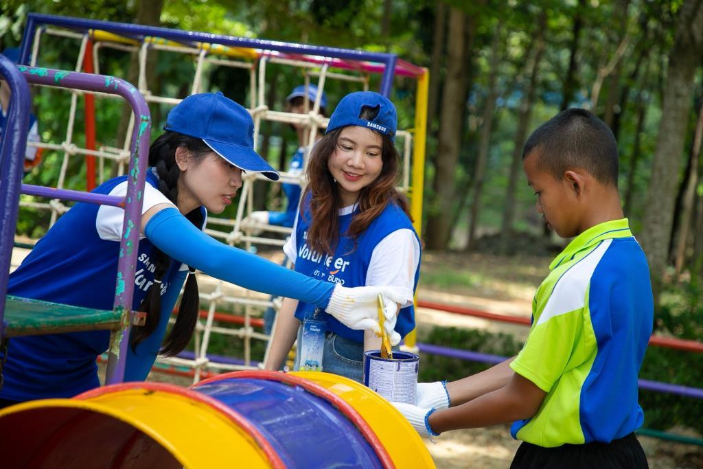 Samsung Love & Care ได้รางวัล CSR จาก Asia-Pacific SABER
