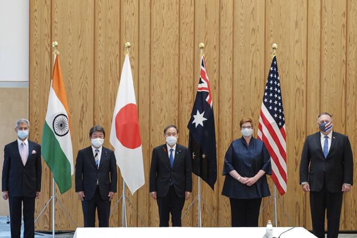 'กลุ่มควอด'มุ่งต้านจีนของสหรัฐฯ-ญี่ปุ่น-อินเดีย-ออสเตรเลีย สร้างขึ้นมาบนรากฐานที่คลอนแคลน
