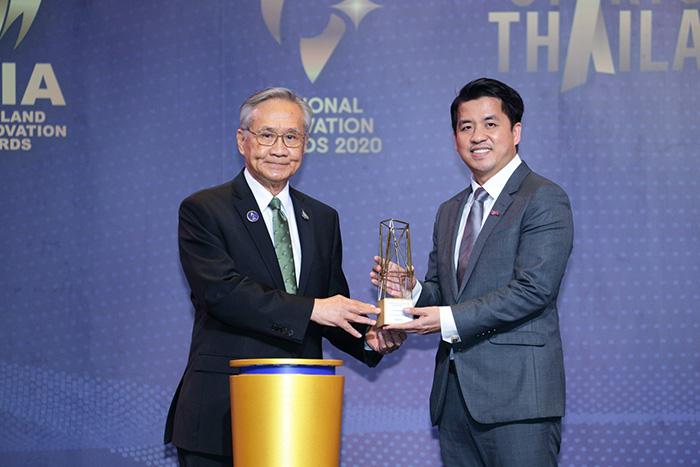 กลุ่มทรู คว้ารางวัลนวัตกรรมแห่งชาติ ด้านเศรษฐกิจ ปี 2563 บทพิสูจน์องค์กรนวัตกรรมดิจิทัล คิดค้นร่วมขับเคลื่อนเศรษฐกิจไทยให้ก้าวไกลอย่างยั่งยืน