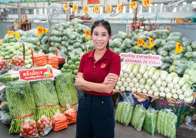 """""""ตลาดสี่มุมเมือง"""" ส่งตรงจากเกษตรกรใน """"เทศกาลกินเจ"""" ครบถ้วน ราคายุติธรรม เปิดตลอด 24 ชั่วโมง"""