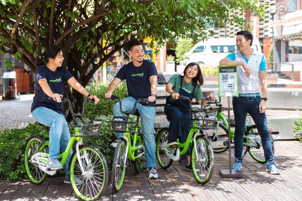 Anywheel ไบค์แชร์ริ่งสิงคโปร์ ขยายพื้นที่ให้บริการในเมืองเชียงใหม่ ผ่านโครงข่าย IoT ดีแทค บิสสิเนส