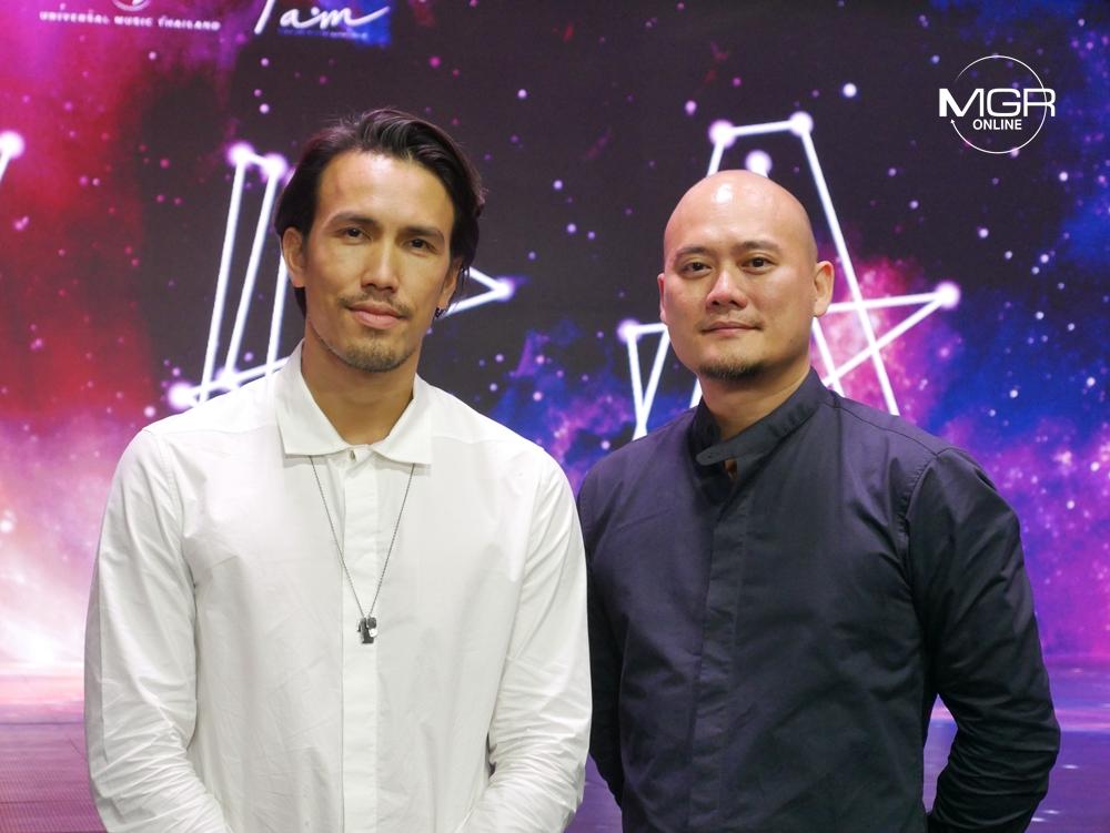 """พอล สิริสันต์ กรรมการผู้จัดการ Universal Music (Thailand) และ """"ณัฐพล บวรวัฒนะ"""" กรรมการผู้จัดการฝ่ายปฏิบัติการ iAM"""