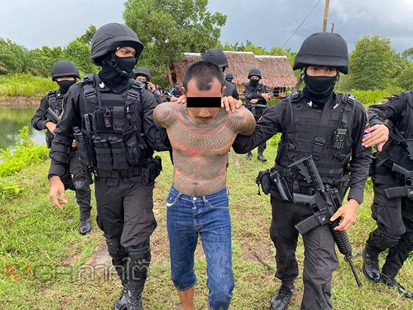 รวบแล้ว! นักโทษชายชาวตรังหลังแหกคุกจากกระบี่และได้หนีกลับบ้านเกิด