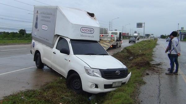 เตือนภัย ! อุบัติเหตุซ้ำซาก ถ.304 ฉะเชิงเทรา-กบินทร์บุรี แค่ 2 วันผู้เสียหายกว่า 10 ราย
