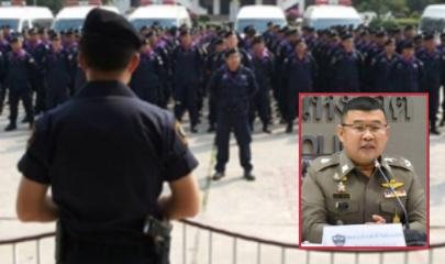 ระดมกำลังตำรวจ 95 กองร้อยเสริมทัพนครบาลคุมม็อบ 14 ตุลา