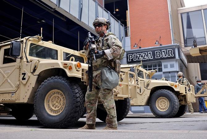 ส่อเค้าป่วน!ทหารสหรัฐฯพร้อมรับมือเหตุความไม่สงบจากศึกเลือกตั้ง
