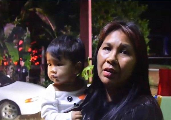หนีตายกลางดึก! แม่ลูกอ่อนหอบลูกวัย 9 เดือนอพยบหนีน้ำหลัง ปภ.สระแก้ว ประกาศเตือนภัย