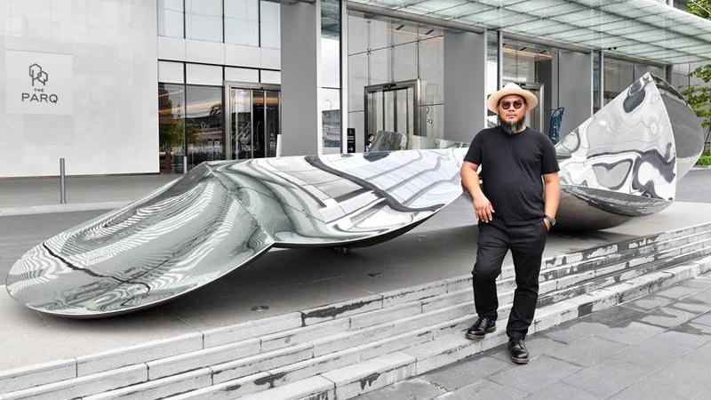 """""""เดอะ ปาร์ค"""" อวดผลงานศิลปะร่วมสมัย สร้างคุณค่าทางใจผู้ใช้อาคาร"""