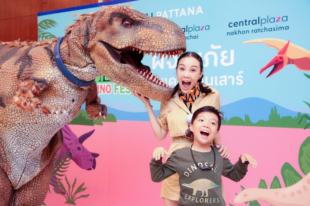 """ตื่นตาไปกับไดโนเสาร์เสมือนจริง ในดินแดนไดโนเสาร์ """"Dino Fest 2020"""" ที่ใหญ่ที่สุดในไทย"""