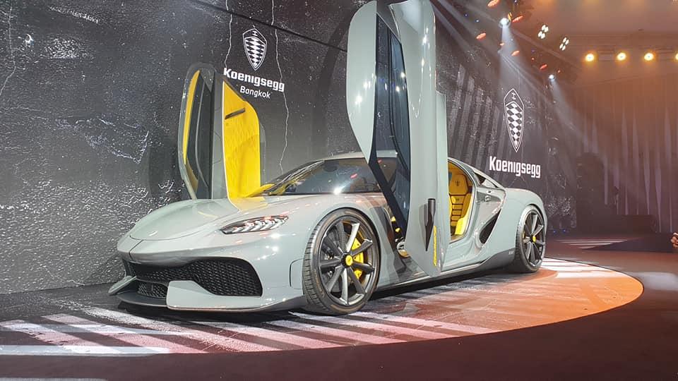 Koenigsegg Gemera ไฮเปอร์คาร์ 2 ประตู ราคา 110 ล้านบาท