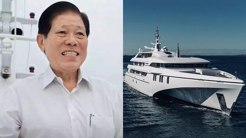 """""""โก๊ะเฉิงเลี่ยง"""" มหาเศรษฐีสิงคโปร์ เจ้าของเรือซูเปอร์ยาชต์ 3 ชั้น"""
