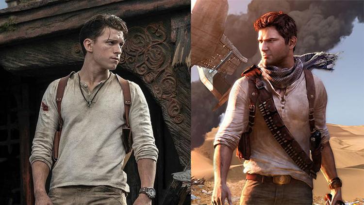 """ถอดชุดไอ้แมงมุมเป็น """"นาธาน เดรก"""" เผยภาพแรก """"ทอม ฮอลแลนด์"""" ในหนังเกมสุดฮิต Uncharted"""