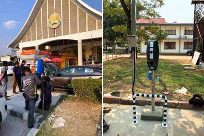 การไฟฟ้าลาวจับมือ Geely จากจีน พัฒนารถยนต์ไฟฟ้าในประเทศ
