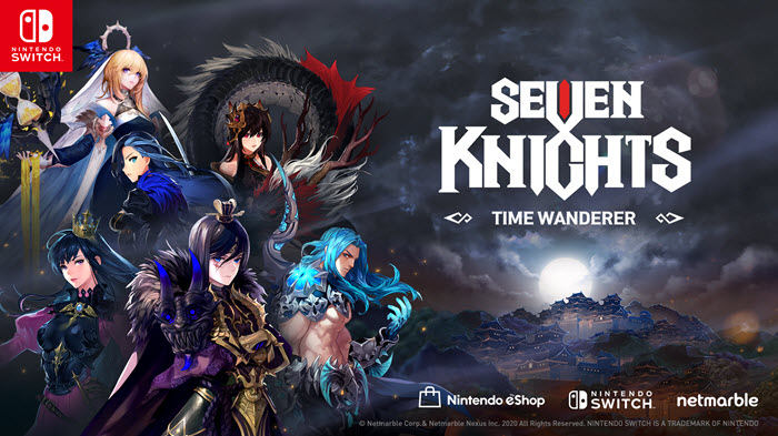 """Seven Knights - Time Wanderer"" เตรียมเปิดให้เล่นบนสวิตช์ 5 พ.ย.นี้"