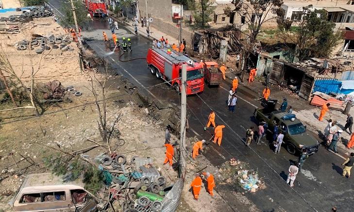 สลด! รถบัสโดยสารอัฟกันโดนระเบิดข้างทาง พลเรือนดับ 9 ศพ