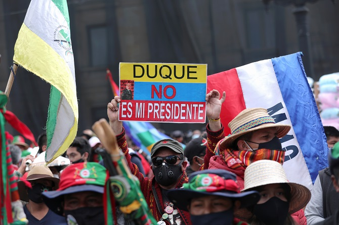 ชาติที่8โลก!!ยอดติดเชื้อโควิด-19ในโคลอมเบียพุ่งเกิน1ล้านคน