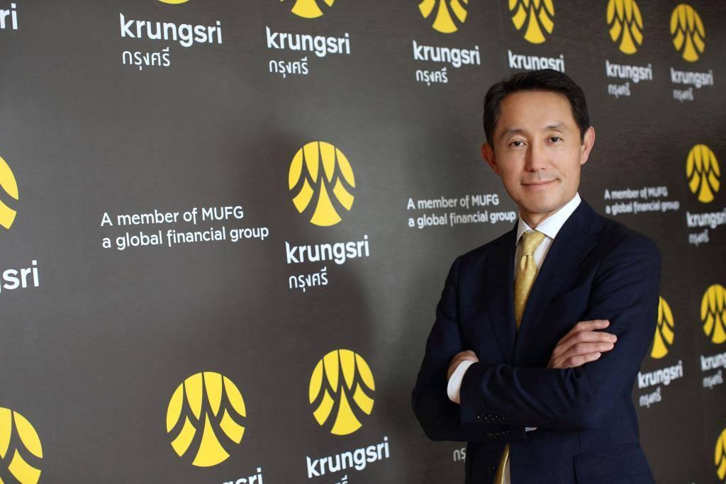 นายเซอิจิโระ อาคิตะ กรรมการผู้จัดการใหญ่และประธานเจ้าหน้าที่บริหาร ธนาคารกรุงศรีอยุธยา (BAY)