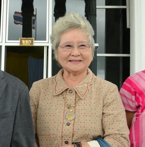 นางภินันทน์ โชติรสเศรณี ประธานกลุ่มอนุรักษ์กาญจน์ จ.กาญจนบุรี