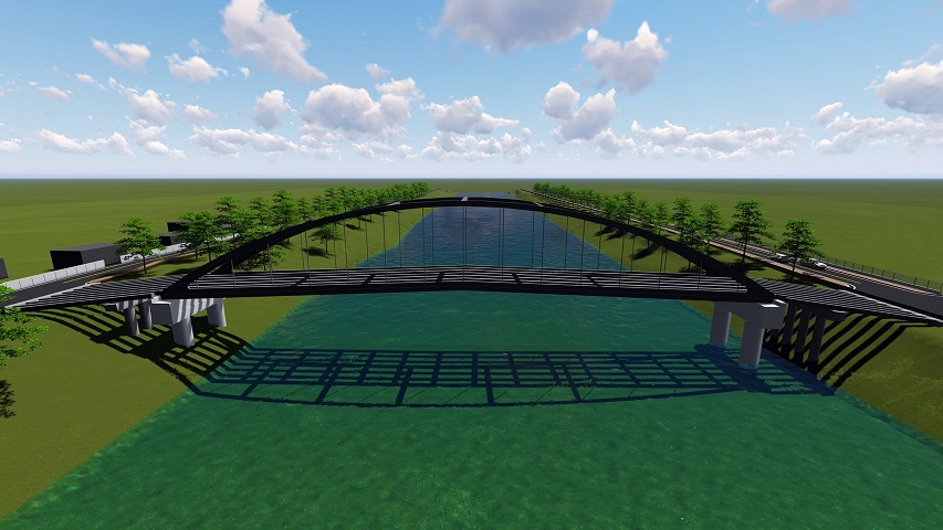 สะพานข้ามแม่น้ำน่านเสร็จส.ค. 64 ! แลนด์มาร์คใหม่ จ.พิษณุโลก