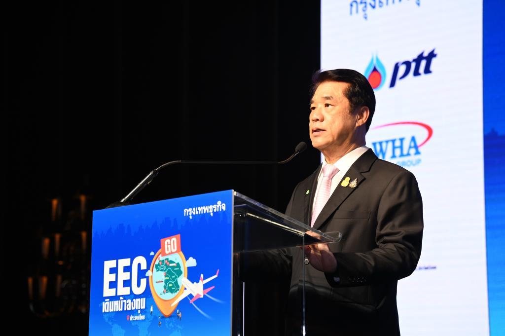 """""""สุริยะ""""ลั่นการเมืองไม่กระทบลงทุนเดินหน้า""""อีอีซี""""ดึงต่างชาติย้ายฐานเข้าไทยเพิ่ม"""