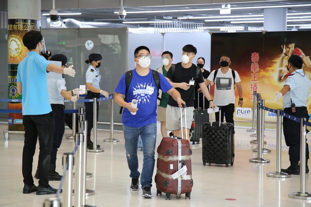 นักท่องเที่ยวประเภทพิเศษ (STV) ล็อต 2 จากจีน 145 คน ถึงไทยแล้ว