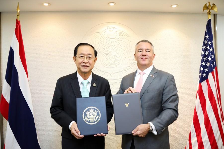 ไทย–สหรัฐ ร่วมมือส่งเสริมการพัฒนาโครงสร้างพื้นฐาน2ประเทศ