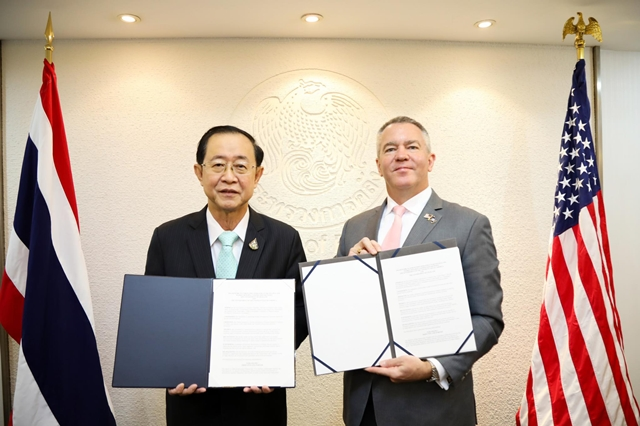คลังไทย-สหรัฐฯ แลกเปลี่ยนเอกสารความร่วมมือเพื่อส่งเสริมการลงทุนในโครงสร้างพื้นฐาน