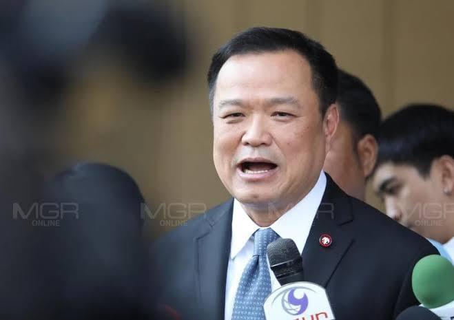 """""""อนุทิน"""" ลั่นปกป้องสถาบันคือปกป้องประเทศไทย เทิดทูนด้วยเหตุผลและประสบมา"""