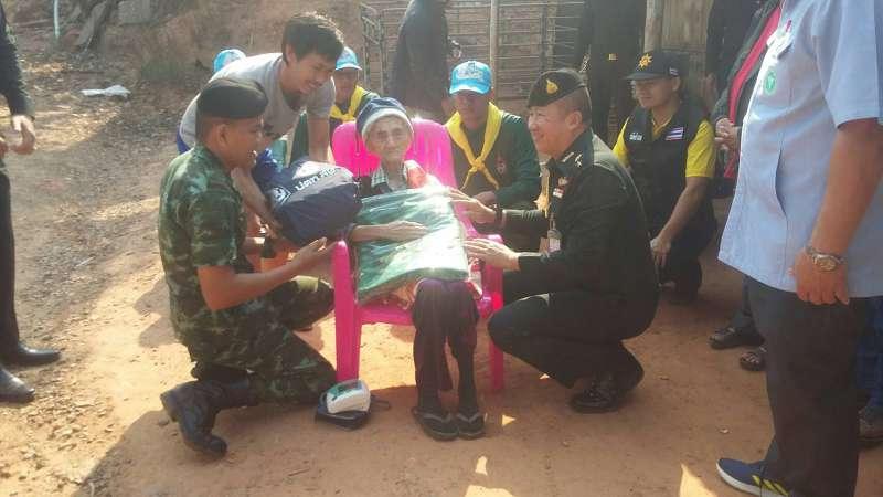 กอ.รมน. ติดตามสถานการณ์พร้อมช่วยเหลือปชช.ผู้ประสบอุทกภัยและภัยหนาว