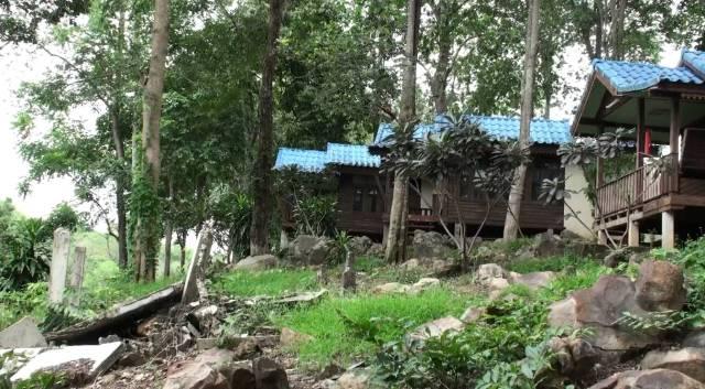 ดีเอสไอ ลุยสอบพิกัดรีสอร์ตพื้นที่วัดโบสถ์ หลังป่าไม้เคยจับฐานรุกป่าริมฝั่งแควน้อยกว่า 100 ไร่