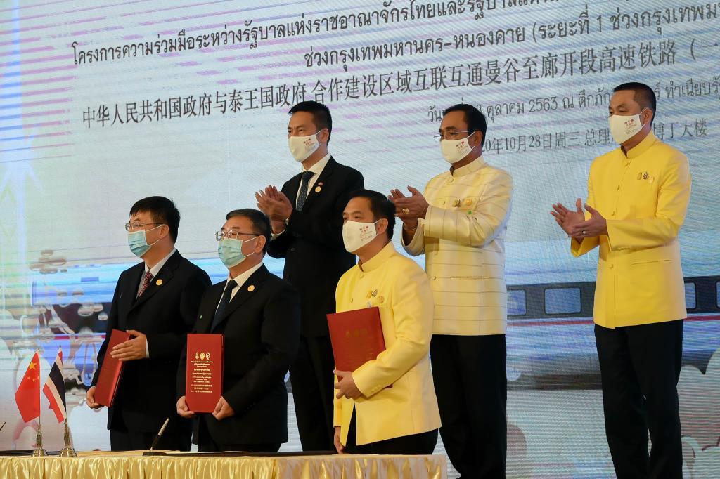 นายกฯ เชื่อมั่นโครงการรถไฟความเร็วสูงไทย-จีน ส่งเสริมศก. ความสัมพันธ์ปชช.