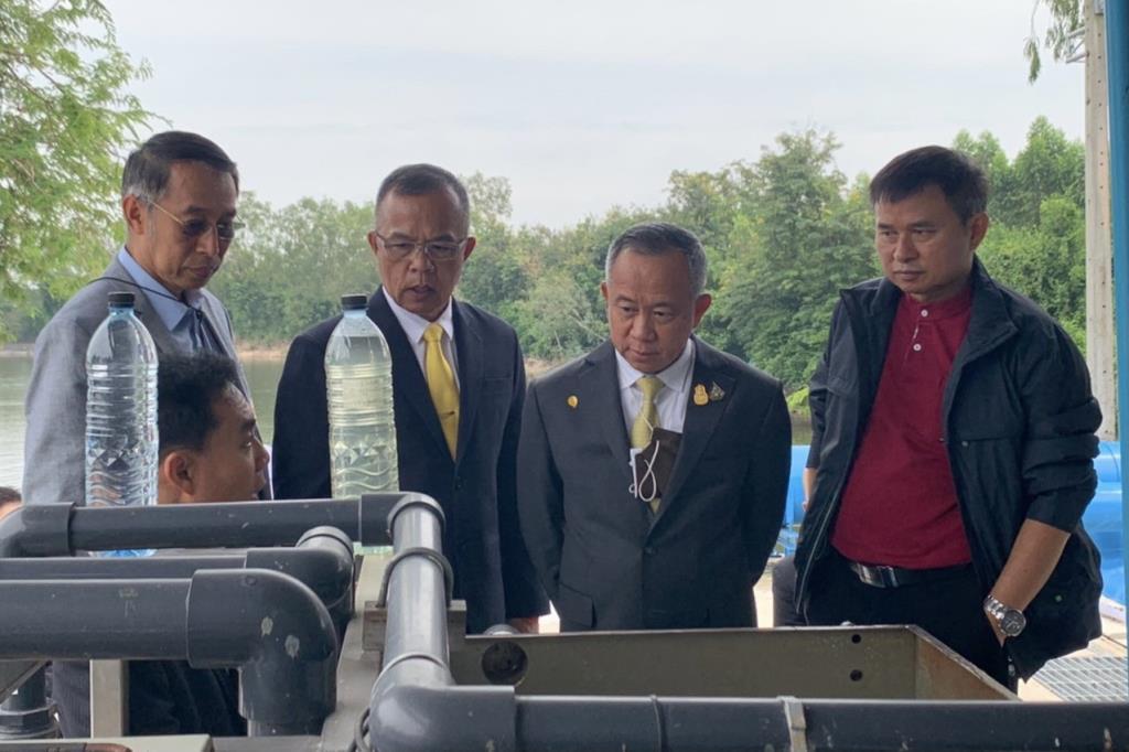 """""""ทีมบิ๊กป้อม"""" ดูงาน IWRM ชลบุรี ต่อยอดบริหารจัดการน้ำเขต EEC"""
