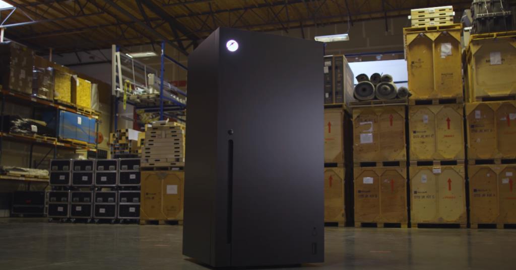 แจกจริง! ตู้เย็น Xbox ผลิตจากใจ ไมโครซอฟต์