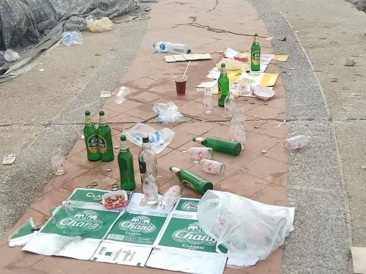 """นายกตุ้ยสุดทน ฉะคนทิ้งขยะเกลื่อนบางแสน """"สันดานเสีย"""" การศึกษาไม่ช่วยอะไร"""