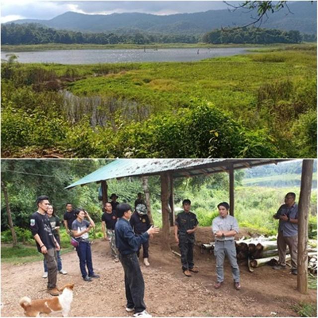 ไปดูพื้นที่ เขตรักษาพันธุ์สัตว์ป่าดอยผาเมือง จังหวัดลำปาง โดยมีมูลนิธิคืนช้างสู่ธรรมชาติ ช่วยจัดหาแม่รับ
