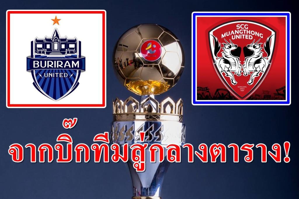 """จากแชมป์ไทยลีกหลายสมัย """"บุรีรัมย์-เมืองทอง"""" สู่อันดับกลางตาราง"""