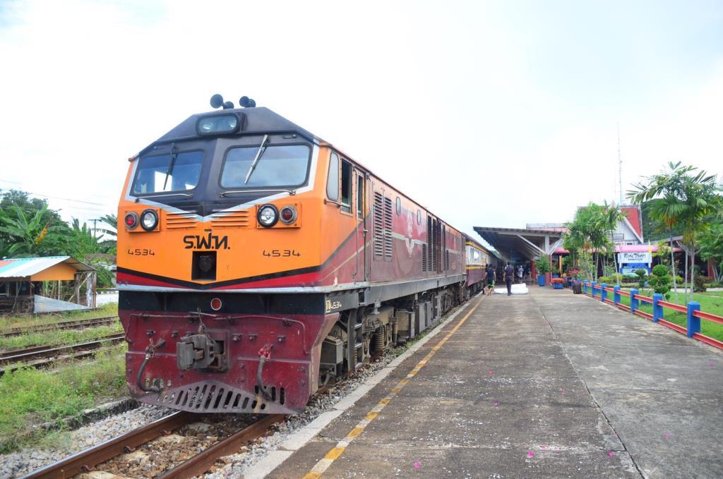 รฟท.ประกาศให้ขบวนรถเร็วที่171/172 หยุดรับ-ส่ง ที่สถานีควนเนียง เริ่ม 4พ.ย.