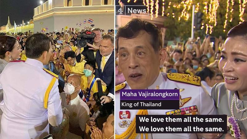 สื่อนอกแพร่คลิป'ในหลวง'พระราชดำรัสถึงม็อบ บ่งชี้ไทยมีทางออกจากวิกฤตการเมือง