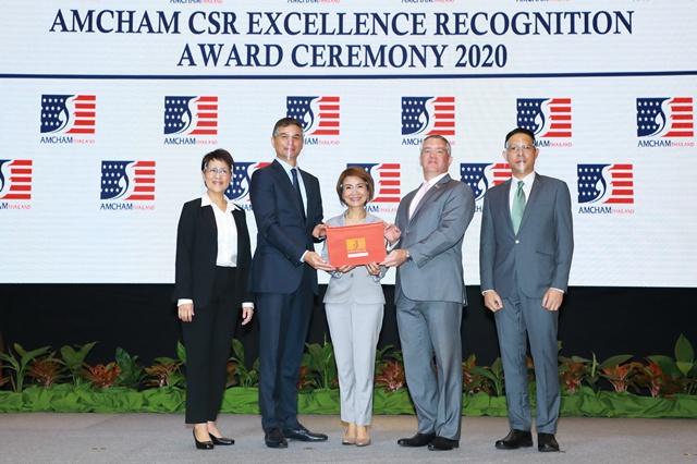 รพ.บำรุงราษฎร์ คว้ารางวัล AMCHAM CSR Excellence Award 2020 ต่อเนื่องเป็นปีที่ 8