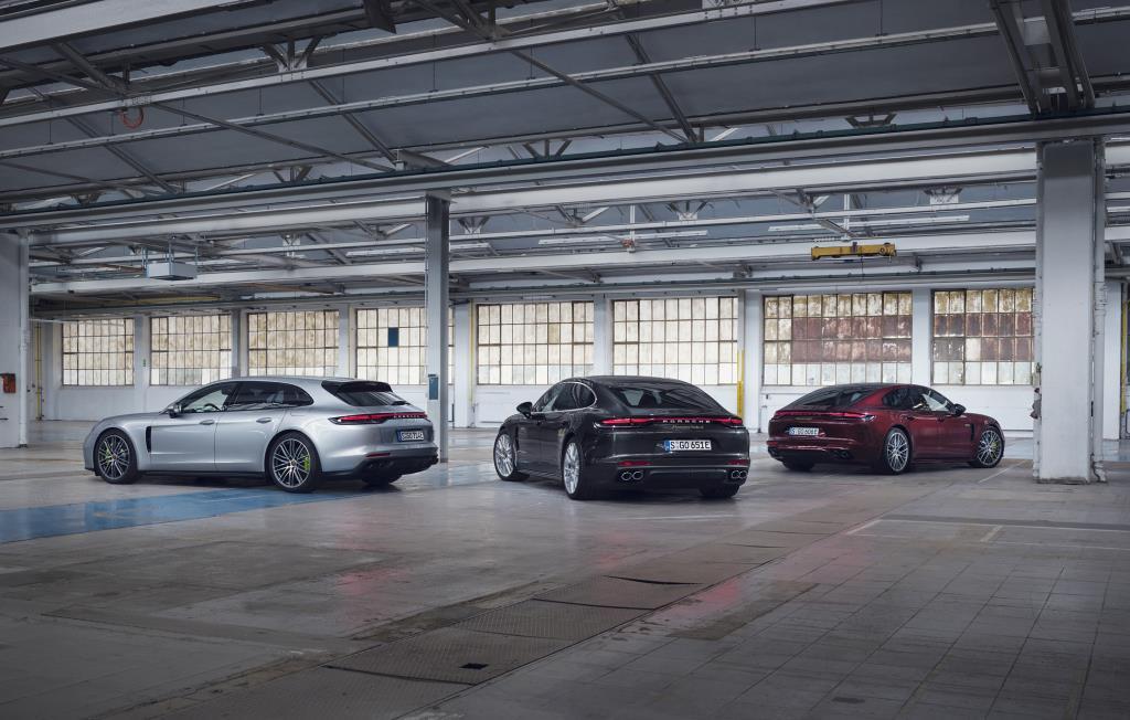 The new Panamera hybrid models