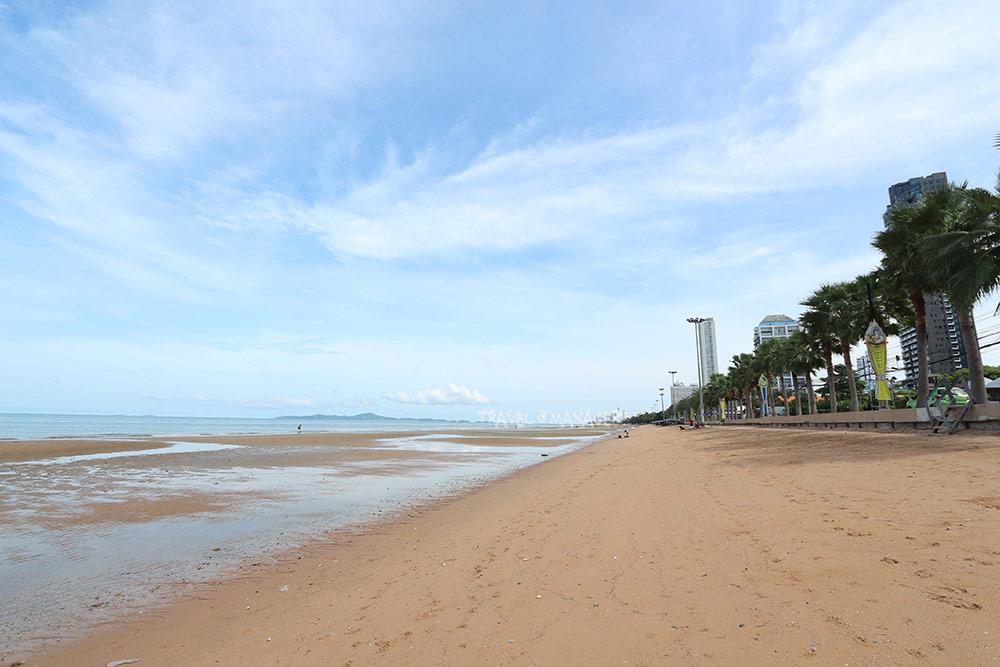 """มิติใหม่ """"หาดจอมเทียน"""" เดินหน้าเสริมชายหาด แก้ปัญหากัดเซาะ-ส่งเสริมการท่องเที่ยว"""