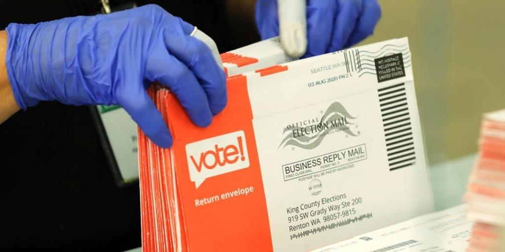 """In Clip: เลือกตั้ง ปธน.สหรัฐฯยังไม่นิ่ง! """"บัตรเลือกตั้งไปรษณีย์"""" ใน 4 รัฐสำคัญยังสับสนไม่รู้ว่าเริ่มนับได้หรือยัง"""