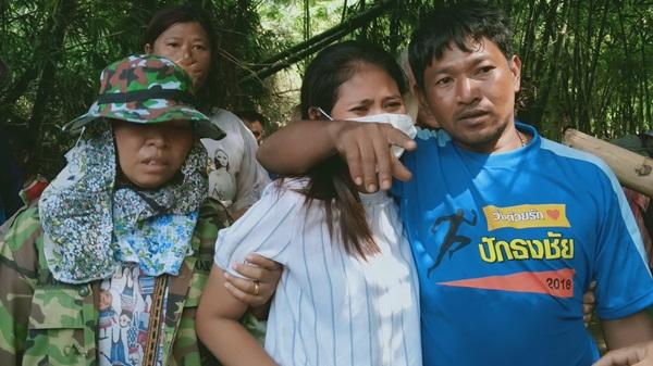 เจอแล้ว! ร่าง 2 ผัว- เมียชาวปราจีนฯ ถูกน้ำป่าพัดหายพร้อมตัวบ้านคืนลอยกระทงหลังระดมค้นหานาน 4 วัน