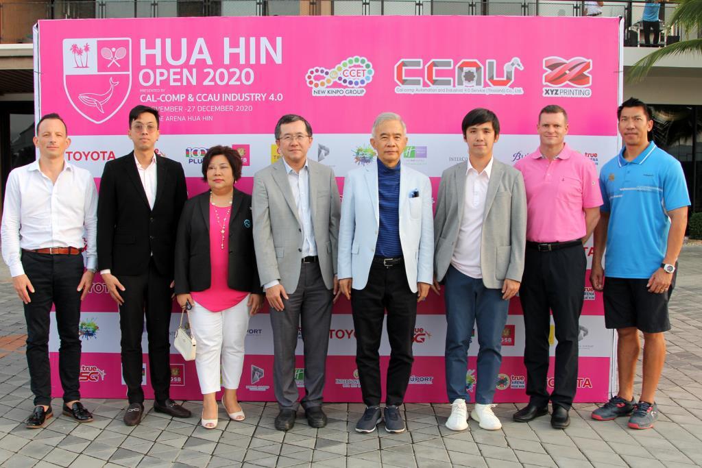 'สุวัจน์' ลั่นหวด 'หัวหิน โอเพ่น 2020' สร้างเวทีพัฒนาเทนนิส พร้อมกระตุ้นเศรษฐกิจ