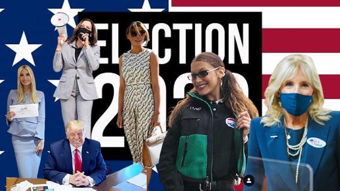 ประชันแฟชั่นวันเลือกตั้งประธานาธิบดีสหรัฐ