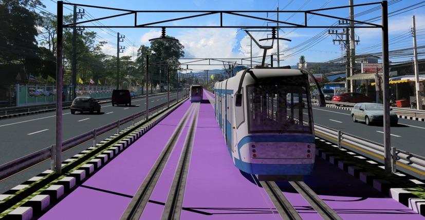 """รื้อแทรมป์ภูเก็ต!""""ศักดิ์สยาม""""ตีกลับสั่งรฟม.ปรับใช้ BRT ล้อยาง ประหยัดค่าก่อสร้าง"""