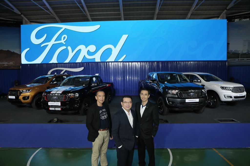 ฟอร์ด อึ้งตลาดรถไทยฟื้นตัวเร็ว คาดทั้งปี 760,000คัน คนซื้อเงินสดมากขึ้น