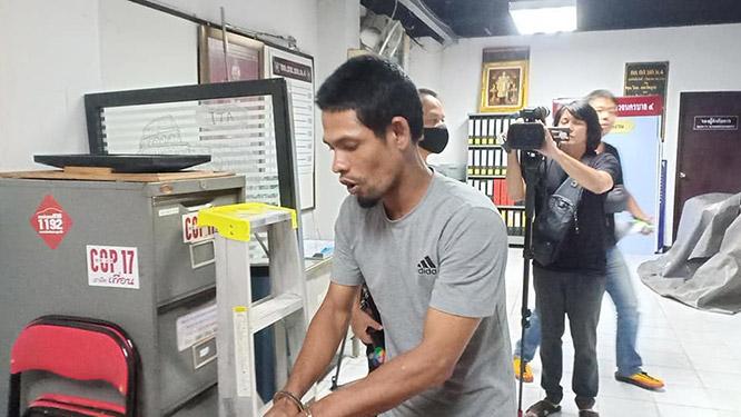 สืบสวน บก.น.4 รวบหนุ่มตกงานลักเงินตู้บริจากในมัสยิด