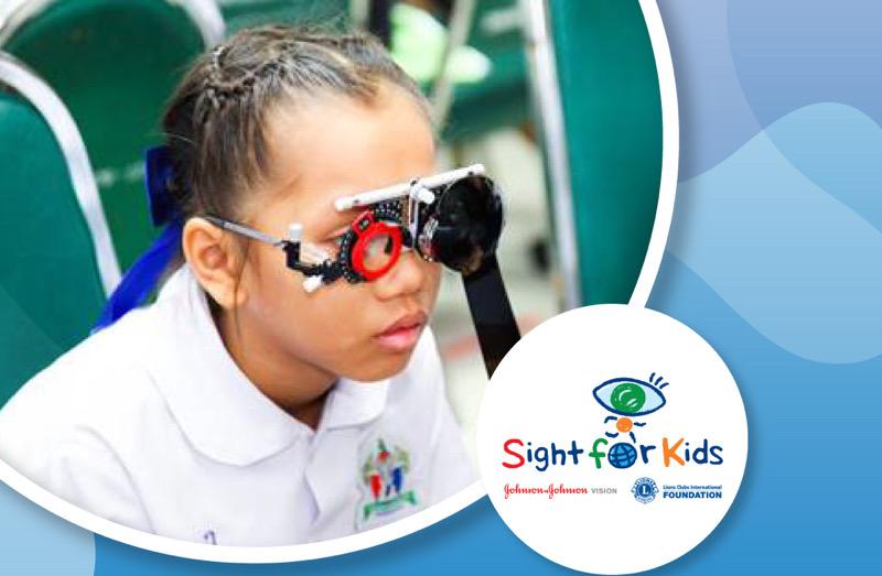 """จอห์นสัน แอนด์ จอห์นสัน เชิญชวน ACUVUE® MEMBER ร่วมมอบสุขภาพตาที่ดีให้กับเด็กๆโครงการ """"Sight For kid"""" เนื่องในวันสุขภาพตาโลก"""
