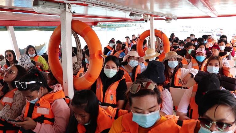 5 หน่วยงานเมืองพัทยาบูรณาการเข้มตรวจสอบมาตรฐานความปลอดภัยทางทะเลช่วงวันหยุด